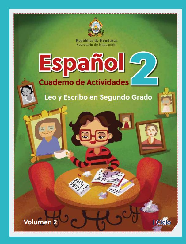 Cuaderno de Actividades de Español 2 Segundo Grado Honduras Vol 2