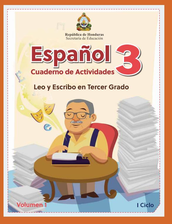 Cuaderno de Actividades de Español Tercer 3 Grado Honduras Volumen 1