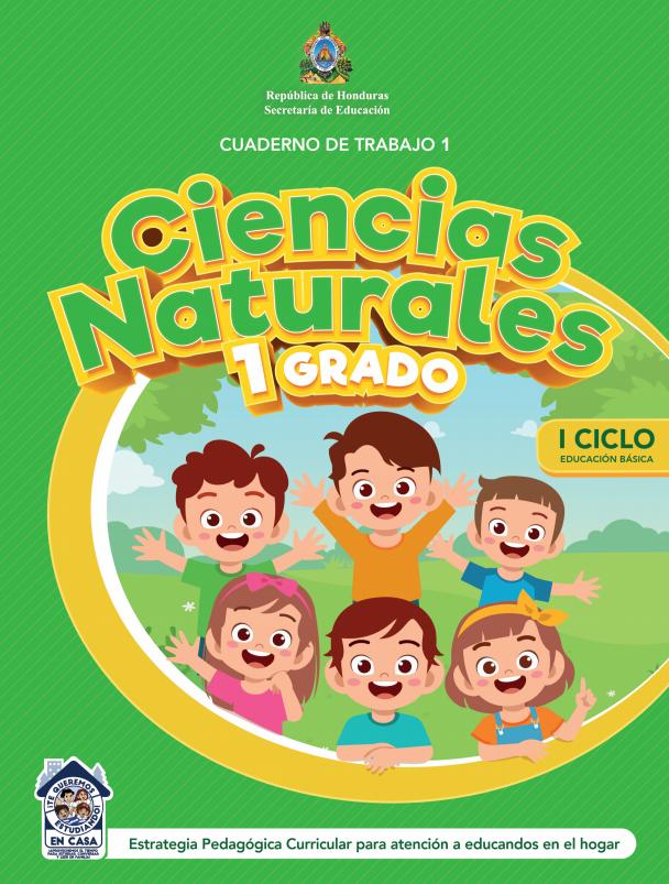 Cuaderno de Trabajo 1 Ciencias Naturales Primer 1 Grado Honduras