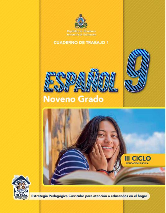 Cuaderno de Trabajo 1 Español Noveno 9 Grado