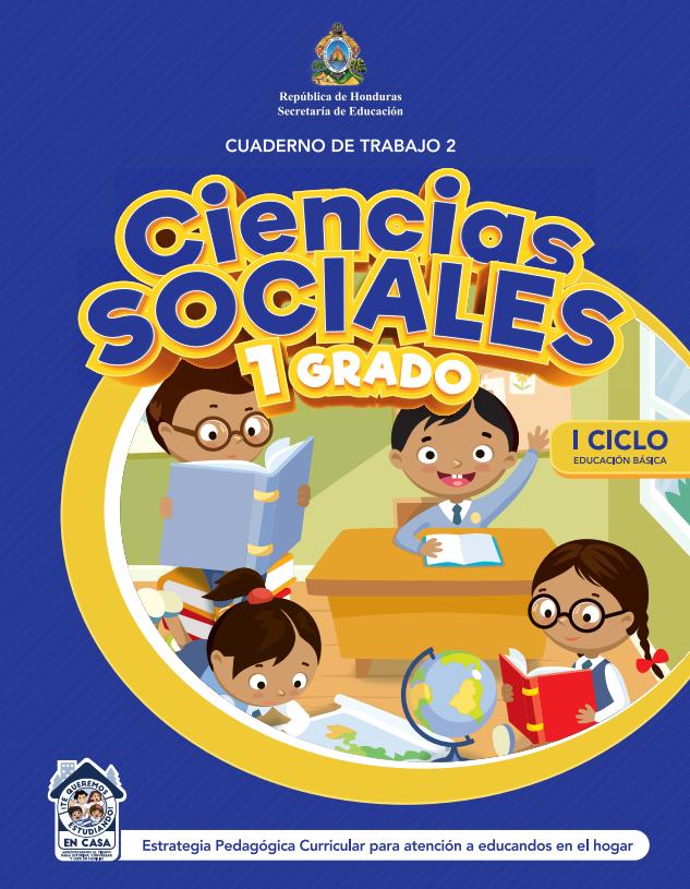 Cuaderno de Trabajo 2 Ciencias Sociales Primer 1 Grado Honduras