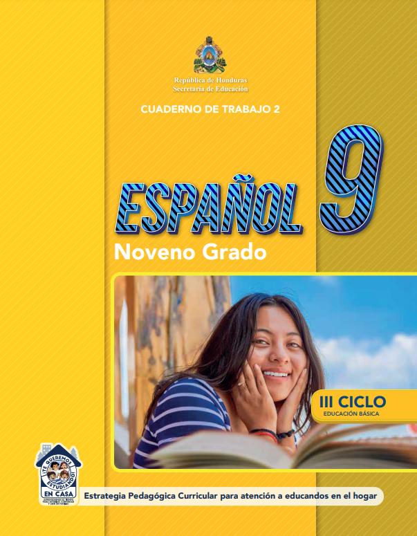 Cuaderno de Trabajo 2 Español Noveno 9 Grado