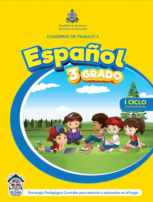 Cuaderno de Trabajo 2 Español Tercer 3 Grado Honduras