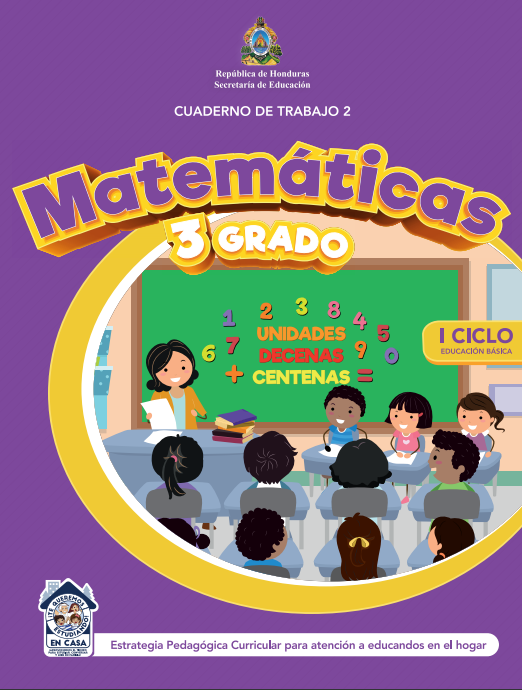 Cuaderno de Trabajo 2 Matematicas Tercer 3 Grado Honduras