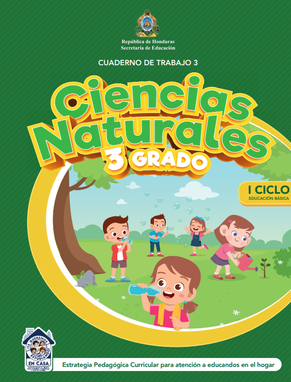 Cuaderno de Trabajo 3 Ciencias Naturales Tercer 3 Grado Honduras