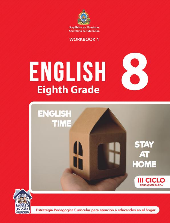 Cuaderno de Trabajo WorkBook 1 Ingles Octavo 8 Grado