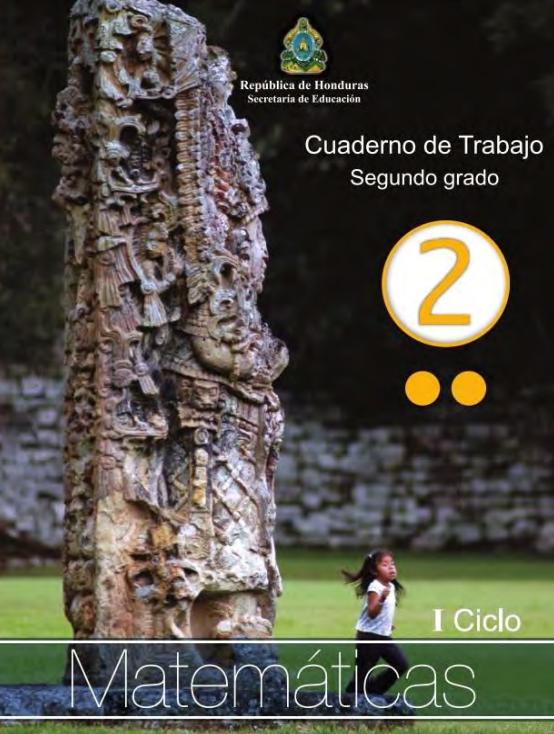Cuaderno de Trabajo de Matematicas 2 Segundo Grado Honduras