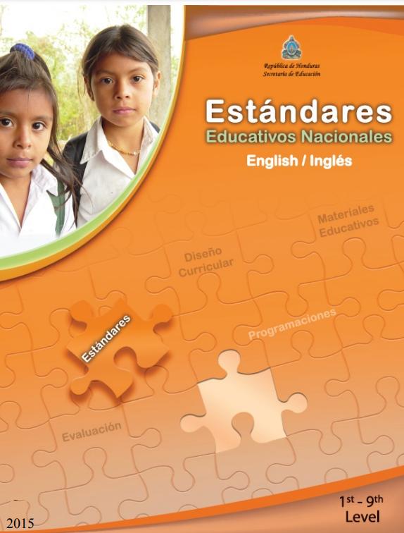 Estandares Educativos Nacionales Ingles Honduras 2021