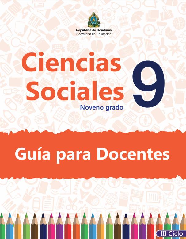 Guia del Docente Ciencias Sociales 9 Grado Honduras