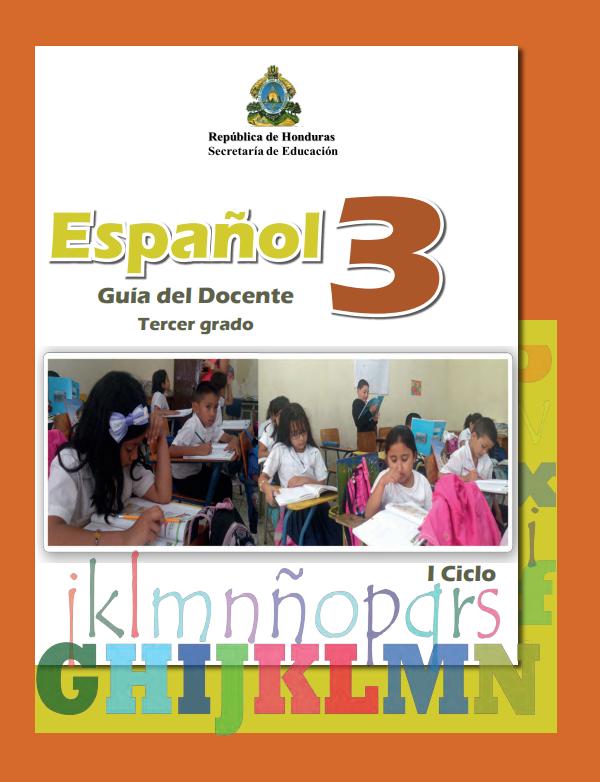 Guia del Docente Español 3 Tercer Grado Honduras