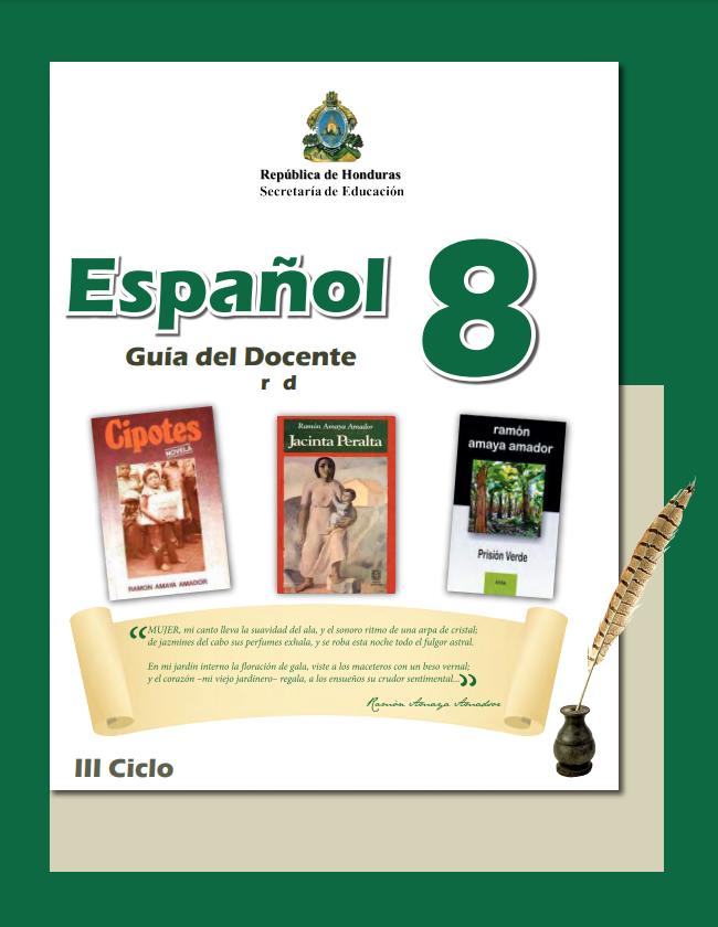 Guia del Docente Español 8 Grado Honduras