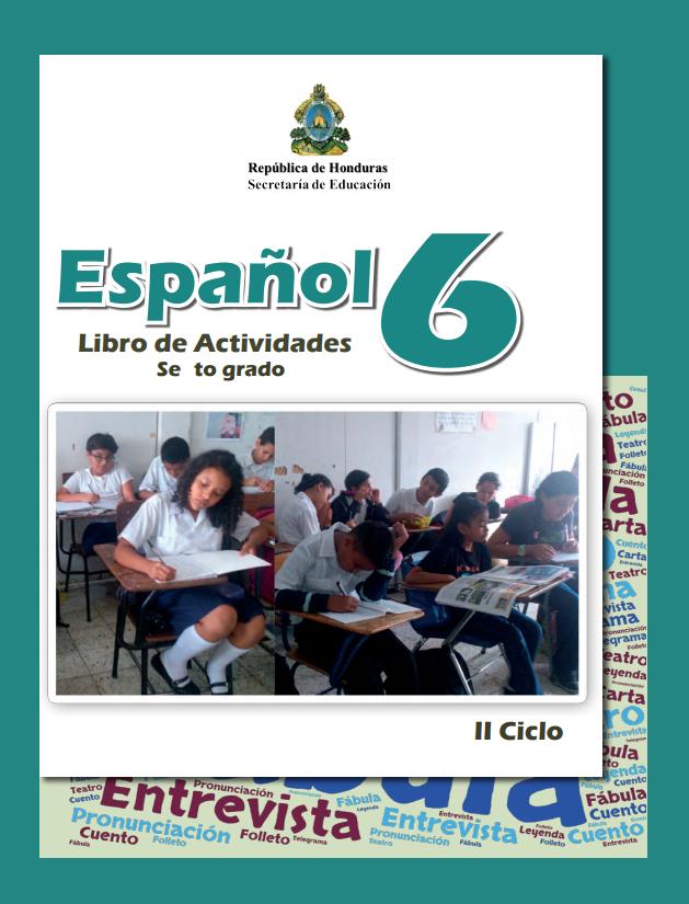 Libro de Actividades de Español 6 Grado Honduras