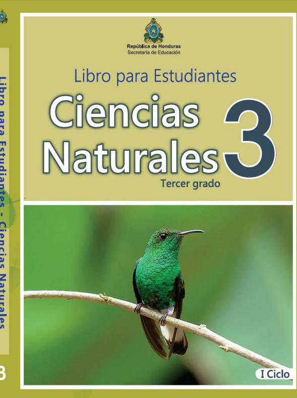 Libro de Ciencias Naturales 3 Grado Honduras