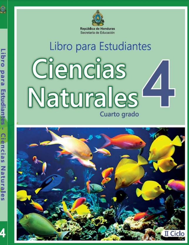 Libro de Ciencias Naturales 4 Grado Honduras