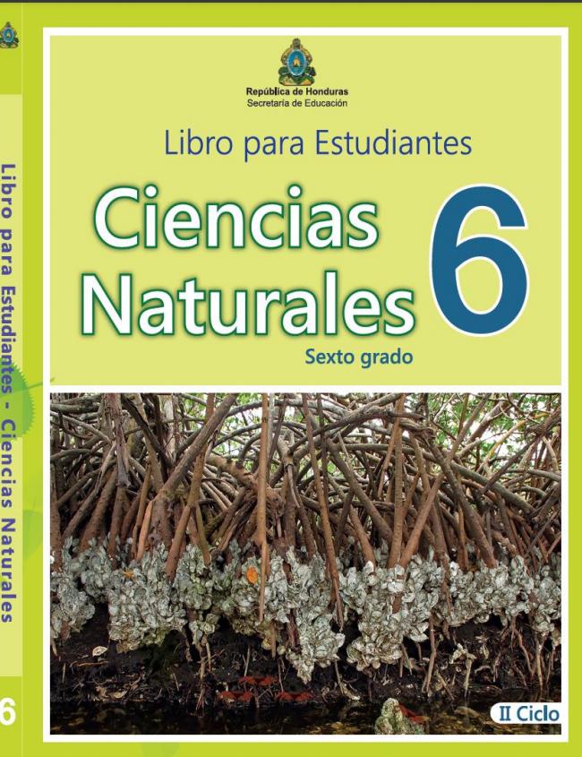 Libro de Ciencias Naturales 6 Grado Honduras