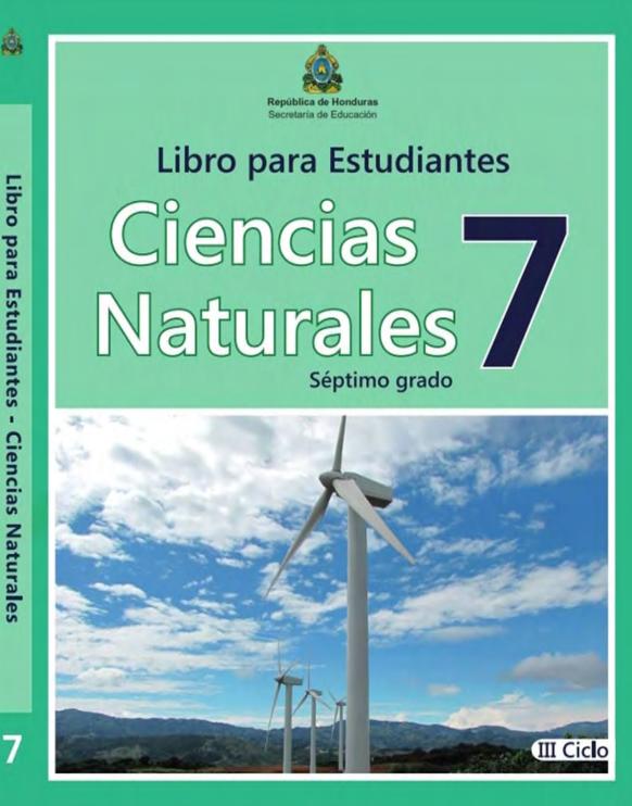 Libro de Ciencias Naturales 7 Grado Honduras