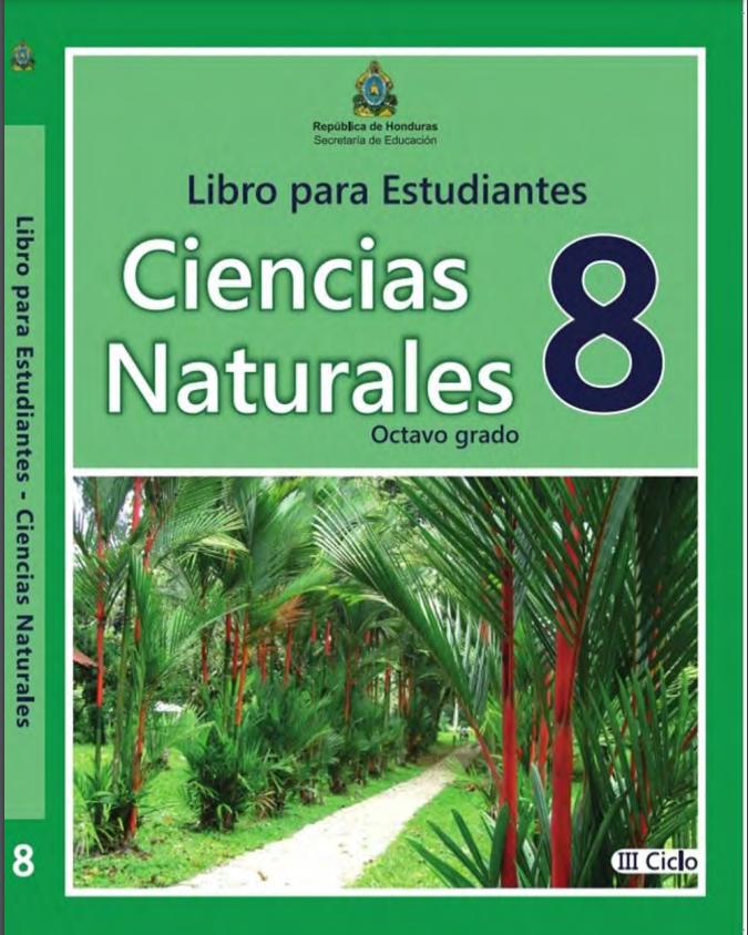 Libro de Ciencias Naturales 8 Grado Honduras