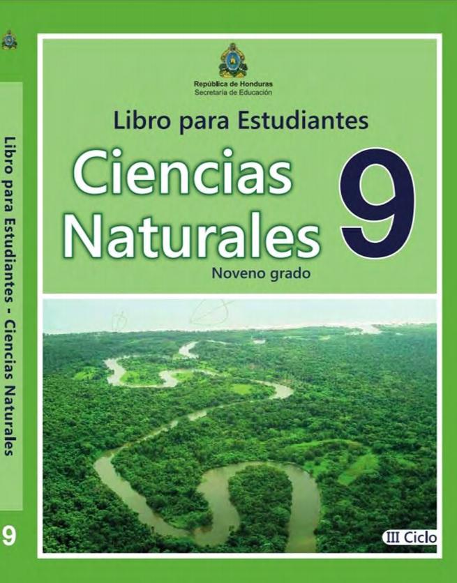 Libro de Ciencias Naturales 9 Grado Honduras