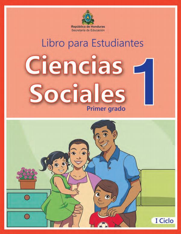 Libro de Ciencias Sociales 1 Grado Honduras