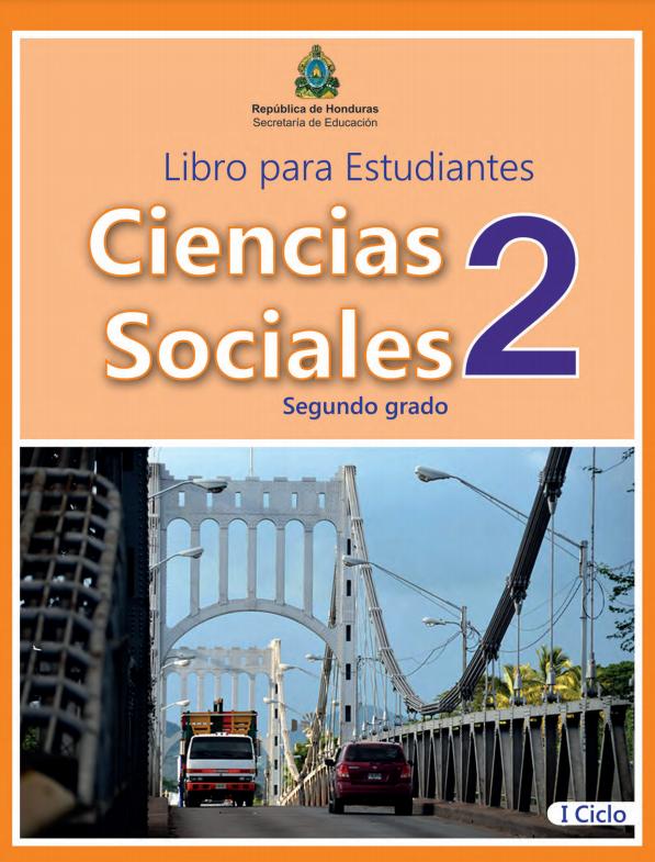 Libro de Ciencias Sociales 2 Grado Honduras