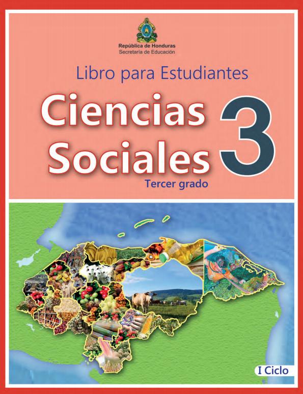 Libro de Ciencias Sociales 3 Grado Honduras