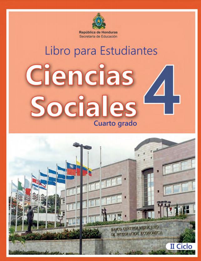 Libro de Ciencias Sociales 4 Grado Honduras