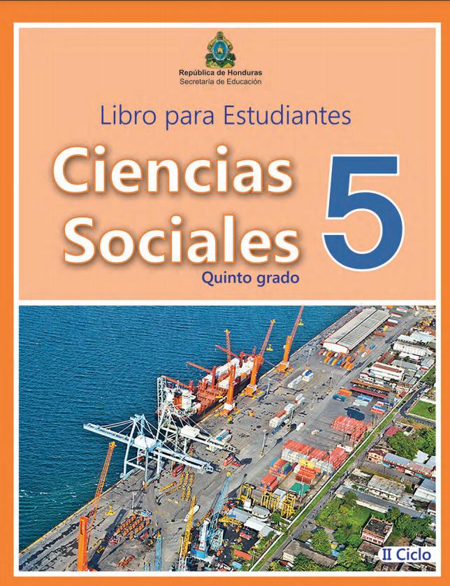 Libro de Ciencias Sociales 5 Grado Honduras