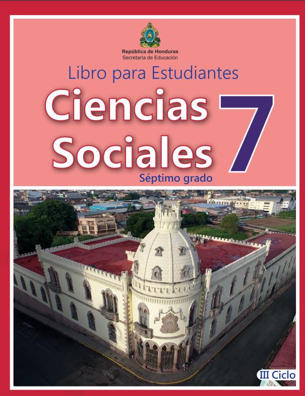 Libro de Ciencias Sociales 7 Grado Honduras