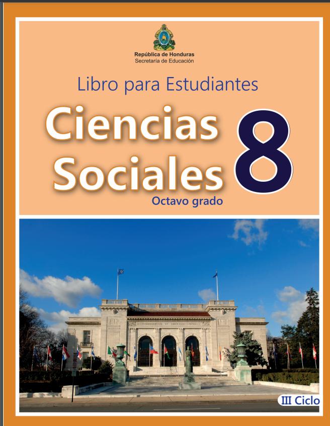 Libro de Ciencias Sociales 8 Grado Honduras