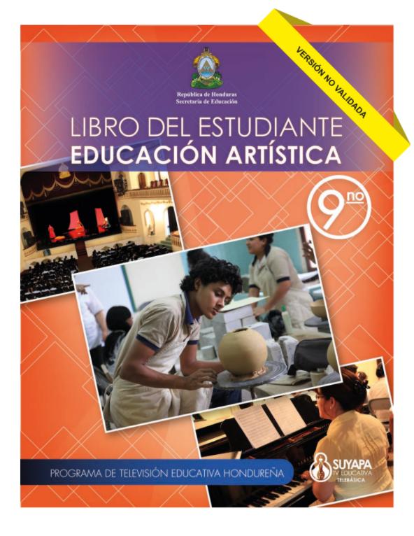 Libro de Educacion Artistica 9 Noveno Grado Honduras