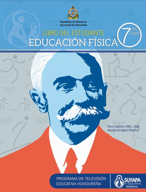 Libro de Educacion Fisica de 7 Septimo Grado Honduras