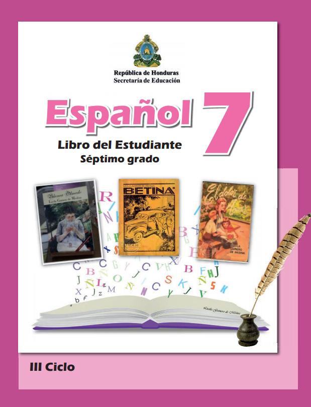 Libro de Español 7 Grado Honduras