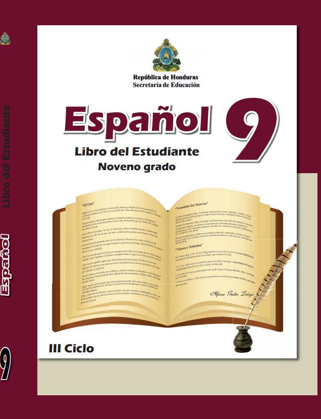 Libro de Español 9 Grado Honduras