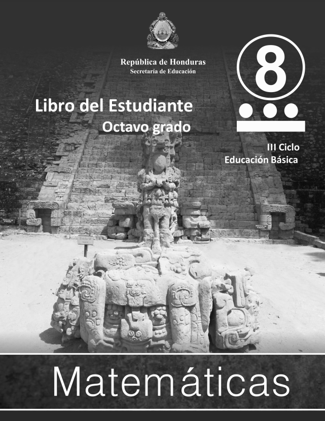 Libro de Matematicas 8 Grado Honduras