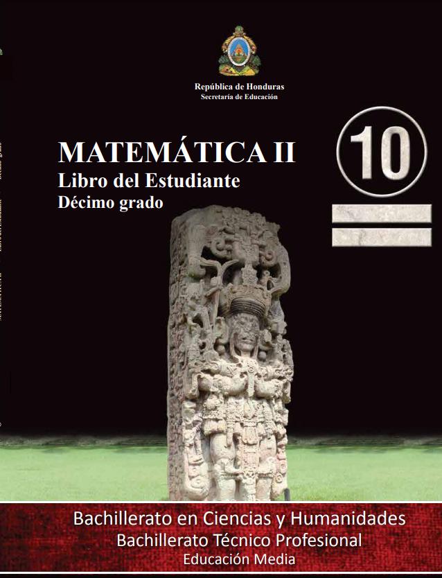 Libro de Matematicas 10 Grado Honduras